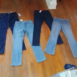 Back to school 📖 ✏ 4 pairs of jeggings/jeans